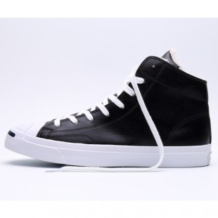 Converse Jack Purcell Zipper 1970 Soft Nap Inside High Top Black Winter Sneakers