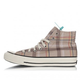 Converse All Star 100 Tartan Check HI 100 Plaid