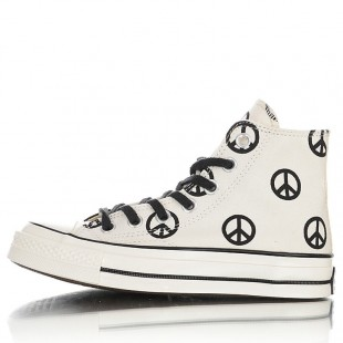 Converse Chuck Taylor All Star 70 Unleash Peace High Top Egret