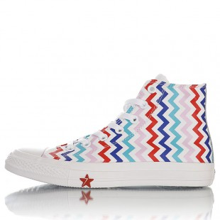 Converse Chuck Taylor All Star Multicolor Chevron Hi High-top Sneaker