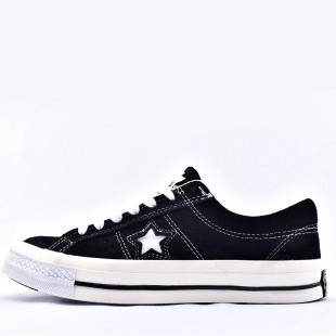 Converse One Star Patta x Deviation Black Low
