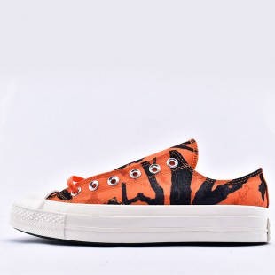 Converse x Carhartt WIP Chuck 70 Ox Camo Orange Low Top