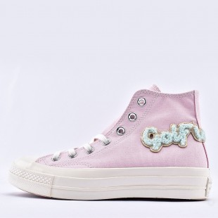 Converse x Golf Le Fleur Chenille Chuck 70 Pink High Top