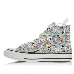 Disney Converse Chuck Taylor All Star Pastel High Mickey Iconic