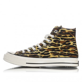 Invincible x Wacko Maria x Converse Link Up Camo and Leopard Print Chuck 70s