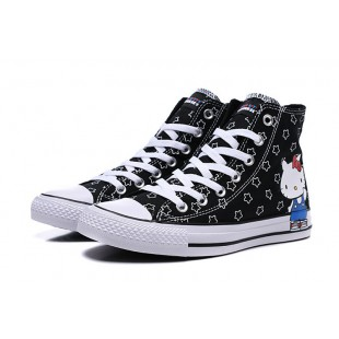 HELLO KITTY x CONVERSE All Stars Black High 163919C