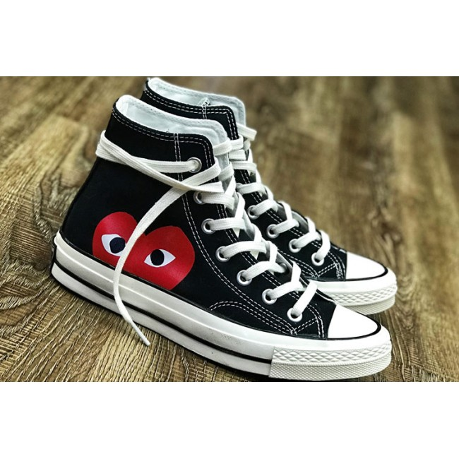 CDG PLAYx Converse Chinatown Market Red