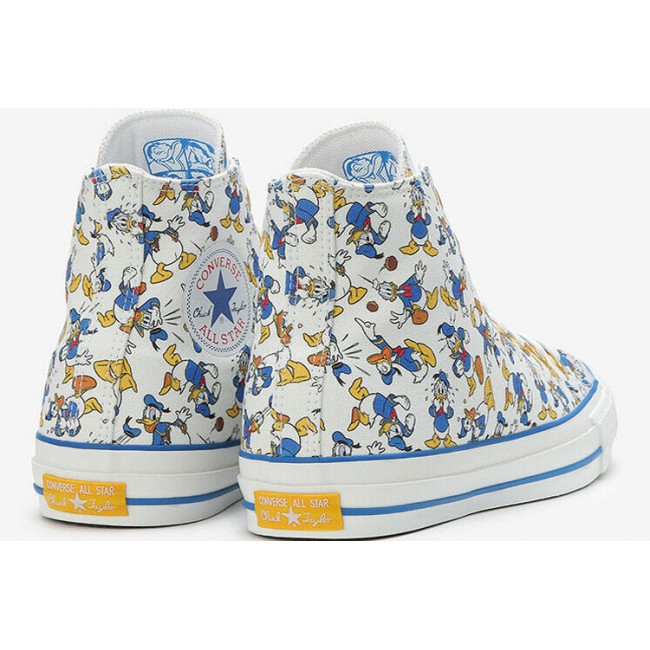 CONVERSE X DISNEY DONALD DUCK 100TH ANNIVERSARY PT HI