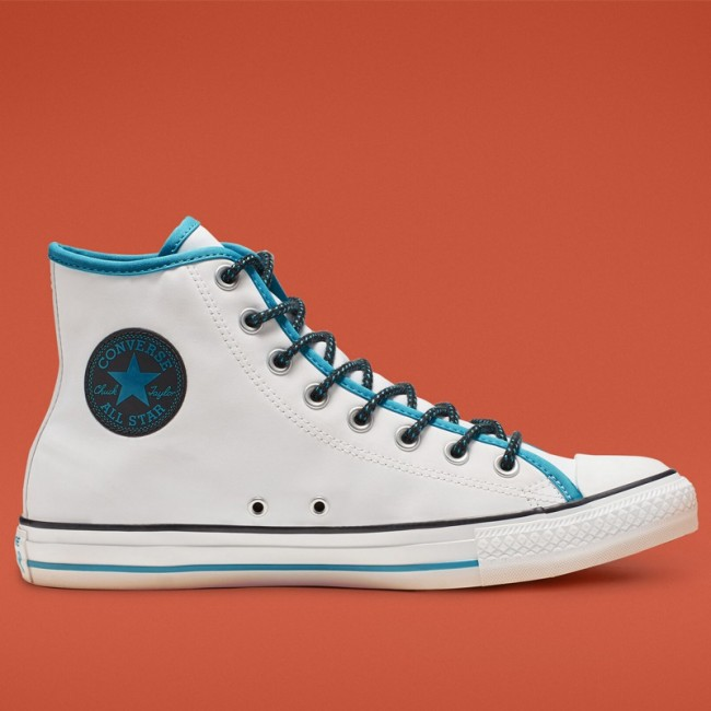 Chuck Taylor All Star Get Tubed High Top White Gnarly Blue White 164091F Shoes
