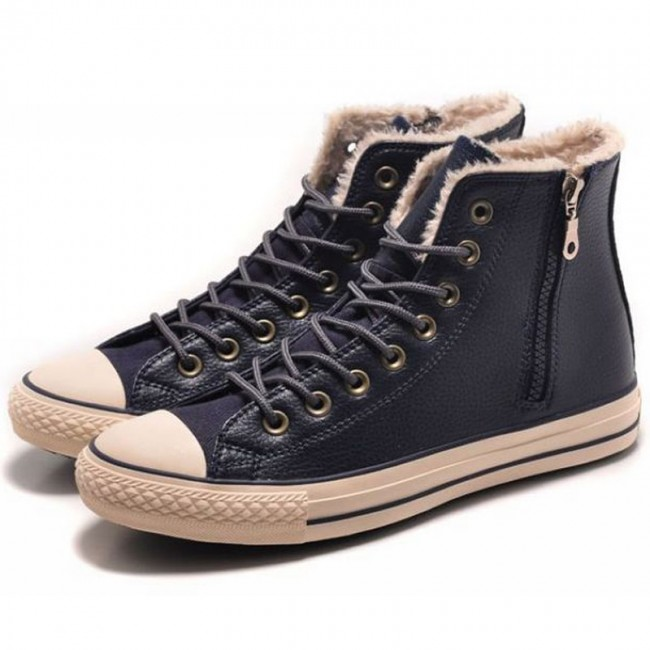 Classic Converse Leather All Star Chuck Taylor Soft Nap
