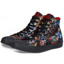Convers DC Comics FOREVER EVIL VS JUSTICE LEAGUE Chucks Black High
