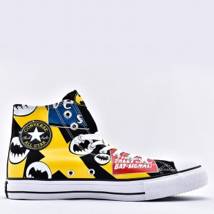 Converse 80th anniversary of Batman Chuck Taylor All Star Unisex High Top Shoes 167304F