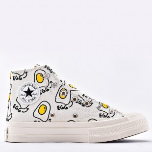 Converse Chuck Taylor 1970S Poached Egg High Top Canvas Sneaker