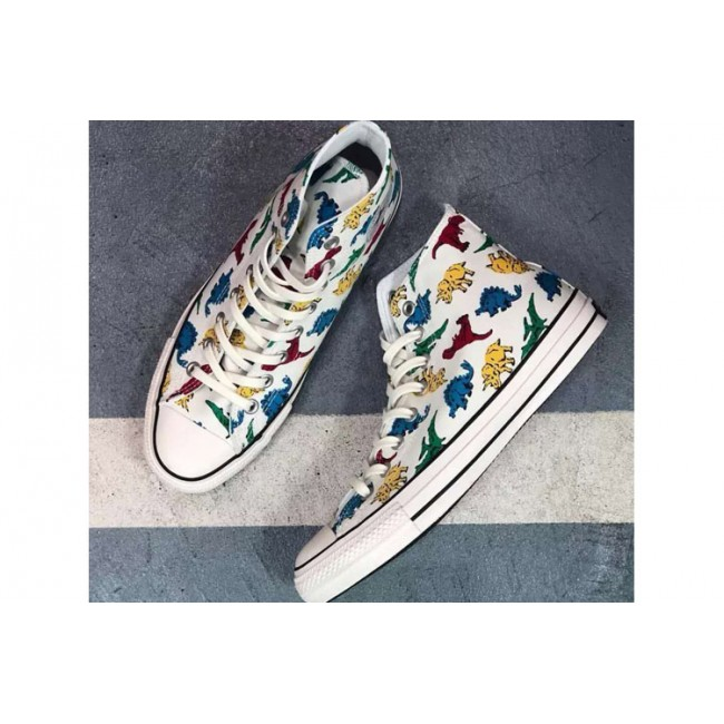 Converse ALL STAR 100 DINOSAUR HI Top White