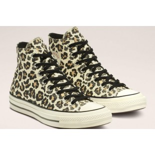 Converse Chuck 70 Archive Leopard Print High Top 163406C