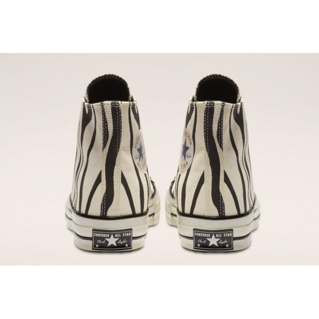 Converse Chuck 70 Archive Zebra Stripe Print High Top 163408C