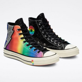Converse Chuck 70 Pride Black High Top