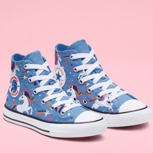 Converse Chuck Taylor All Star Unicons High Top Blue Black White 665472C Shoes