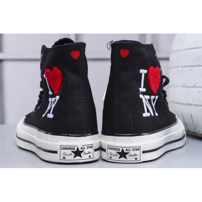 Converse Chucks All Star 1970S Lovely Red Heart I Love NY
