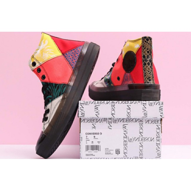 Converse Colorful Chinese Style Splicing Chucks Hi All Star