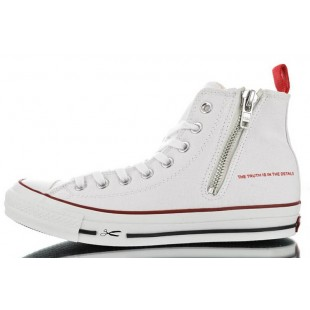 Converse DENHAM All Star Chucks Zip White High