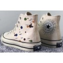 Converse DIY Chuck Taylor All Star 1970S Colorful Beige High