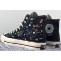 Converse DIY Chuck Taylor All Star 1970S Colorful Black High