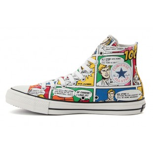 Converse Superhero 100TH Iconic Comics Chuck Taylor All Star Colors High Tops