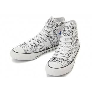 Converse Superhero 100TH Iconic Comics Chuck Taylor All Star White Black High Tops