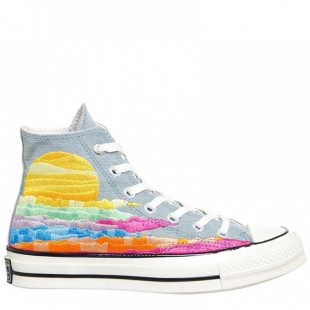 Converse X Mara Hoffman Chuck Taylor All Star Unisex 70 Sun Rise High Top Sneakers 158250C
