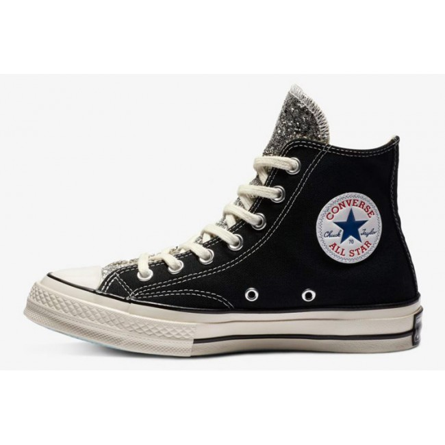 Converse x Chiara Ferragni Paillette Big Eyes Black Chuck Taylor 70 Hi All Star