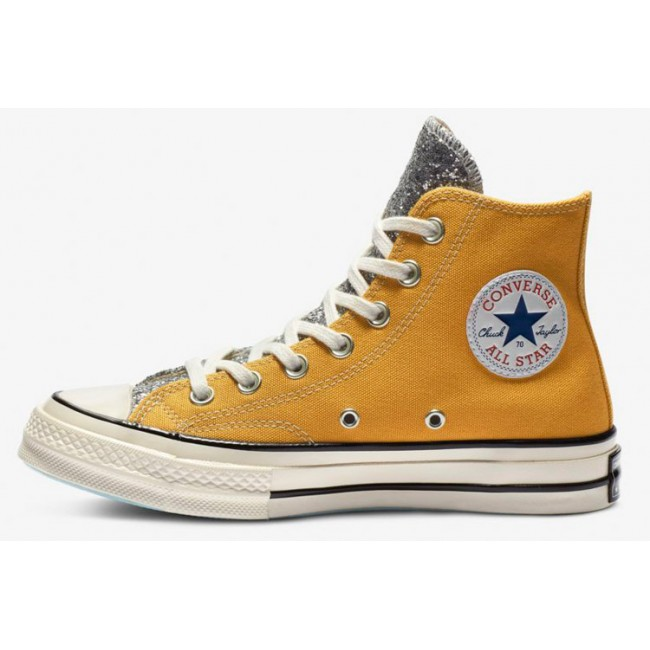 Converse x Chiara Ferragni Paillette Big Eyes Yellow Chuck Taylor 70 Hi All Star
