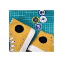 Converse x NBA Golden State Warriors Chucks Yellow Canvas High