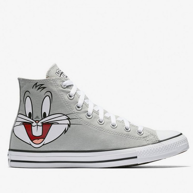 Chucks Converse All Star Looney Tunes High Top Grey 158234