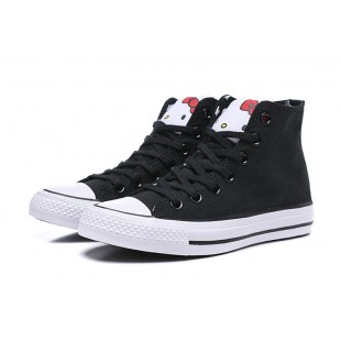 HELLO KITTY x CONVERSE Chuck Taylor All Star Black High 163910C
