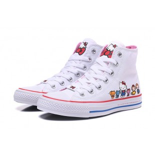 HELLO KITTY x CONVERSE Chuck Taylor All Star White High 162944C