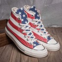Hotsale All Star Chucks Converse Americana Flag High Top Canvas Sneakers