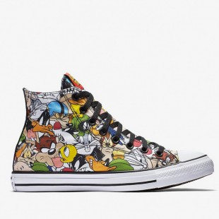 Chucks Converse All Star Looney Tunes High Top Multi 158235