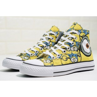 Minions x Converse All Star 100 Chuck Taylor Yellow High
