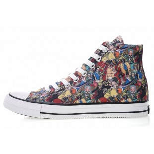 One Piece x Converse All Star 100 MC OX Comics High