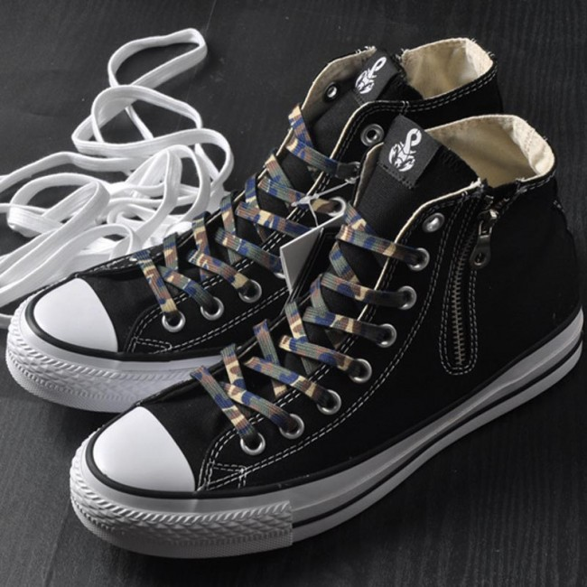 e676ffa70f7fb8 SOPHNET. x Converse Chucks All Star 100 Zip Up High Tops Black ...