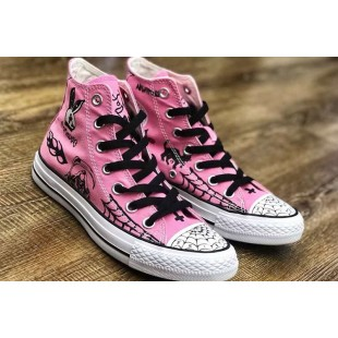 Supreme Team Sean Pablo x Converse CONS Chuck Taylor All Star Pro Pink High