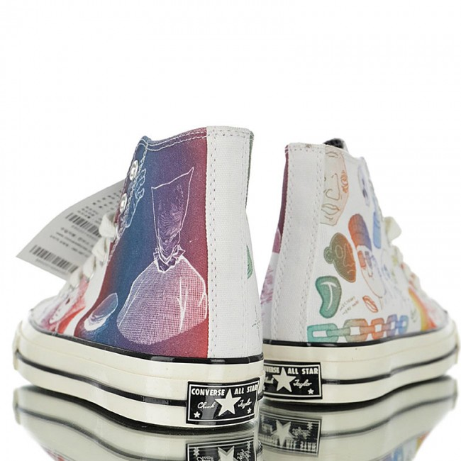 No se mueve Regresa comida  The Creator x Foot Locker x Converse Chuck 70s Hi Artist Series High Top  164532C