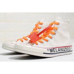 Virgil Abloh THE TEN Off-White x Converse GHOSTING Melanized White Chucks High