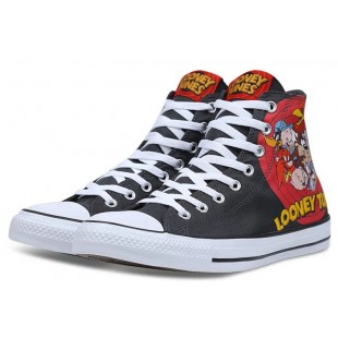 Warner Bros Converse Chuck Taylor All Star Looney Tunes Black Canvas High