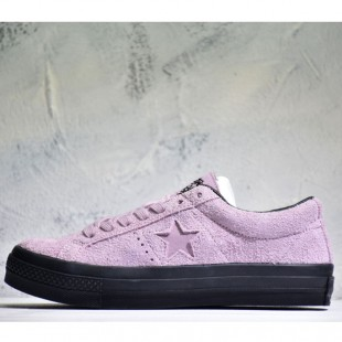 Converse STUSSY ONE STAR 74 Chucks Low Top Pink Suede Sneakers