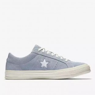 Converse One Star x Golf le Fleur Chucks Low Top Sky Blue Suede Sneakers