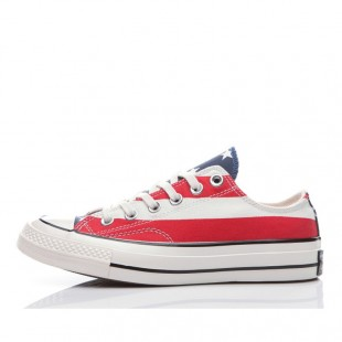 All Star Chucks Converse Americana Flag Low Top Canvas Sneakers
