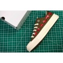 CDG PLAY x Converse Chuck Taylor Material OX Addict Vibram Brown Low All Star Chucks