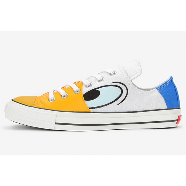 CONVERSE X DISNEY DONALD DUCK 100TH ANNIVERSARY Yellow White Blue